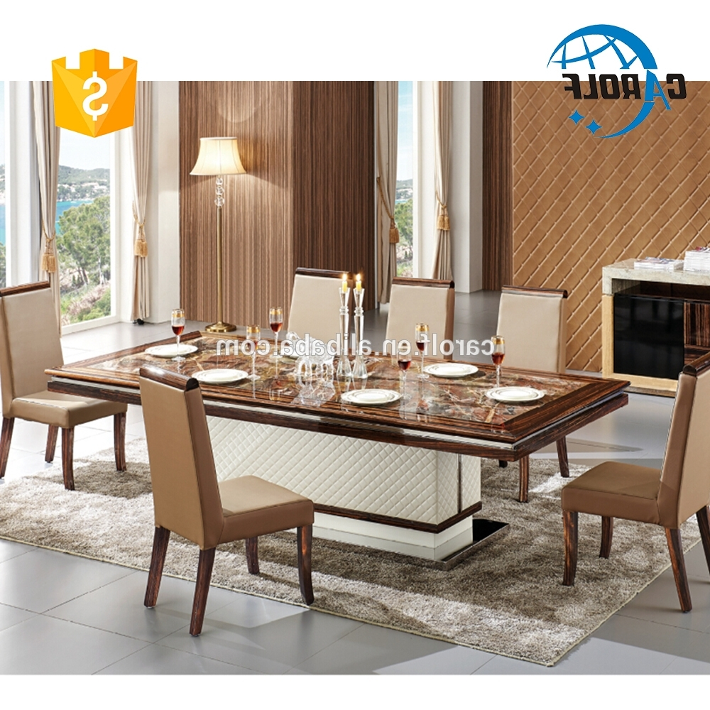 Dining Table Set, Dining Table Set Suppliers And Manufacturers At Regarding Most Up To Date Dining Table Sets (View 4 of 25)