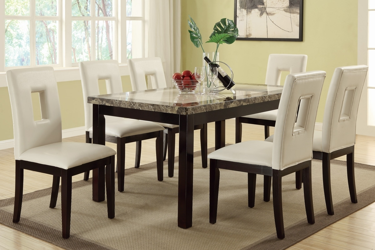 Dining Table Set (F2094/ F1052) (View 5 of 25)