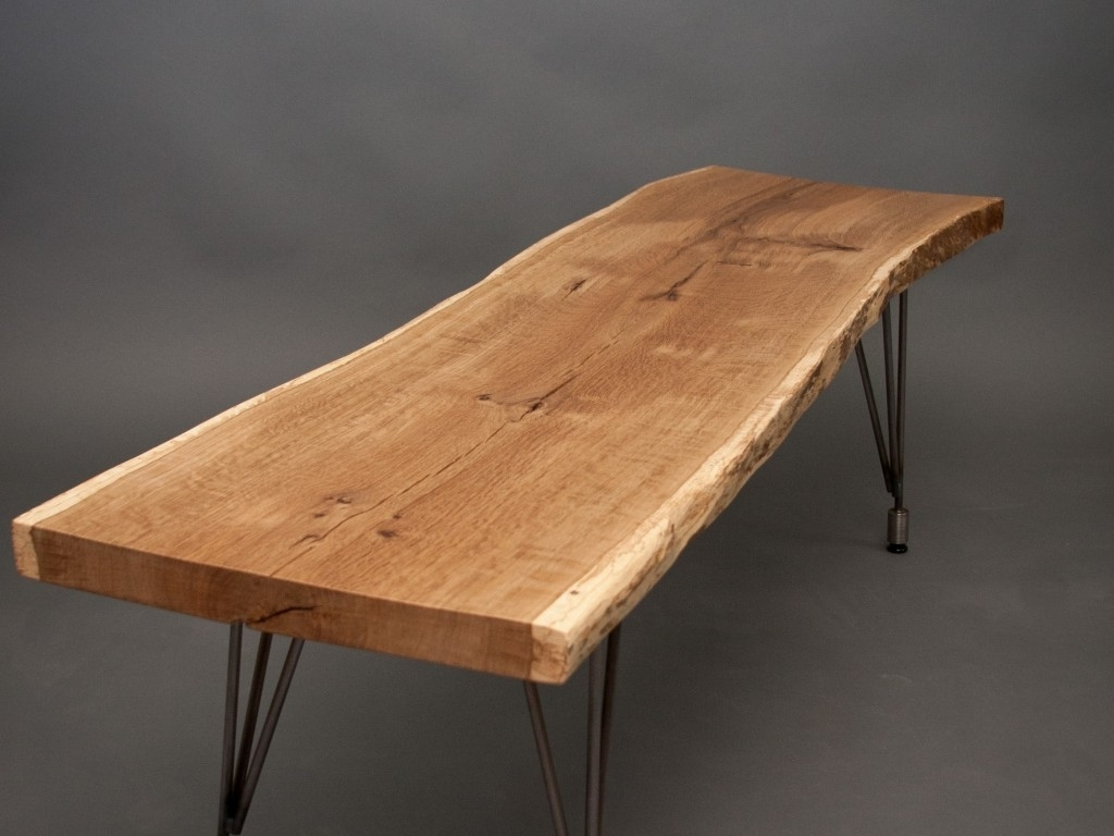 Dining Table: Simple Yet Stunning Rustic Furniture For Dining Room With Regard To Well Known Dining Tables With Metal Legs Wood Top (View 24 of 25)