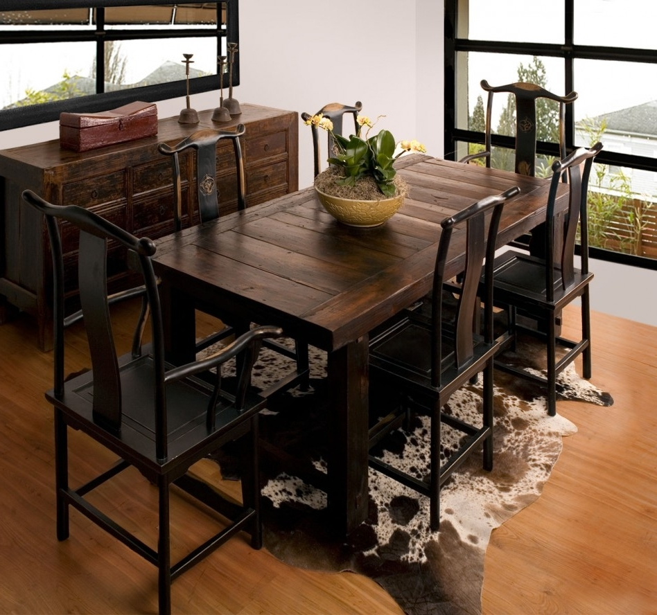 Dining Table: Top Notch Small Dining Room Design With Rectangular Pertaining To Recent Narrow Dining Tables (Gallery 19 of 25)