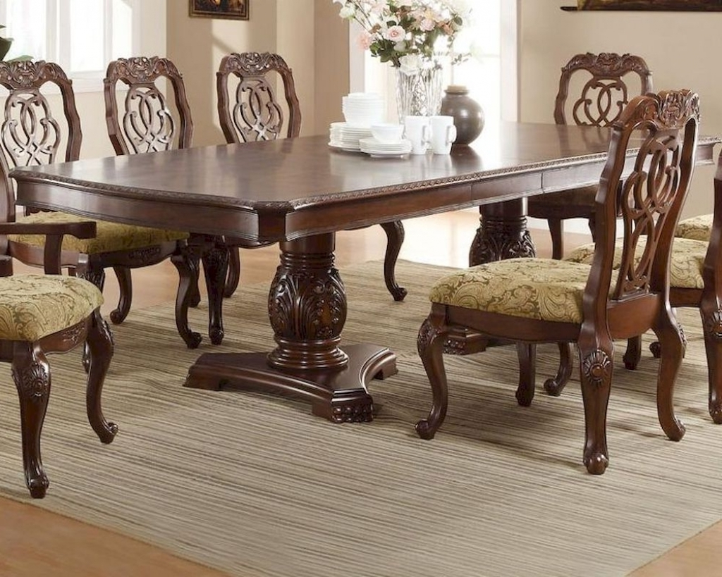 Dining Table Traditional Furniture (Gallery 4 of 25)