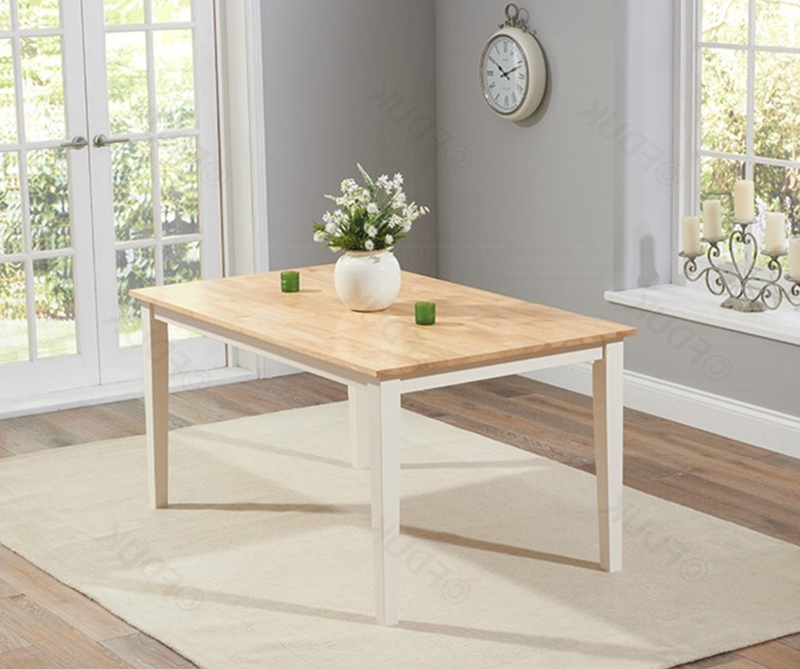 Dining Tables And 2 Benches With Regard To Current Mark Harris Chichester (View 9 of 25)