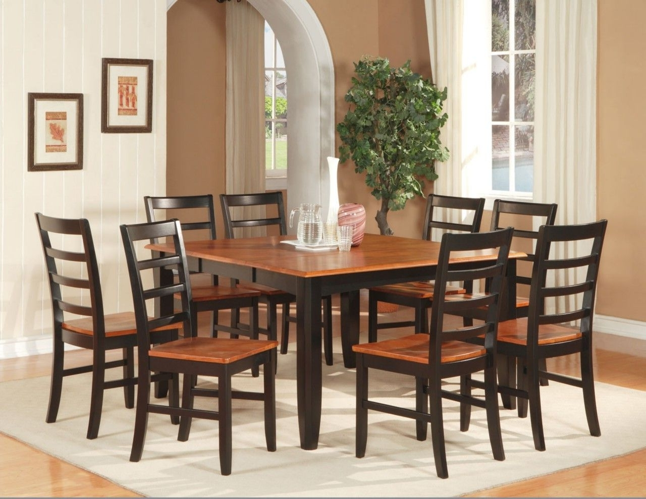Dining Tables And 8 Chairs Sets Throughout Most Popular Dining Room Excellent Small Dining Room Furniture Sets With Dining (Gallery 7 of 25)