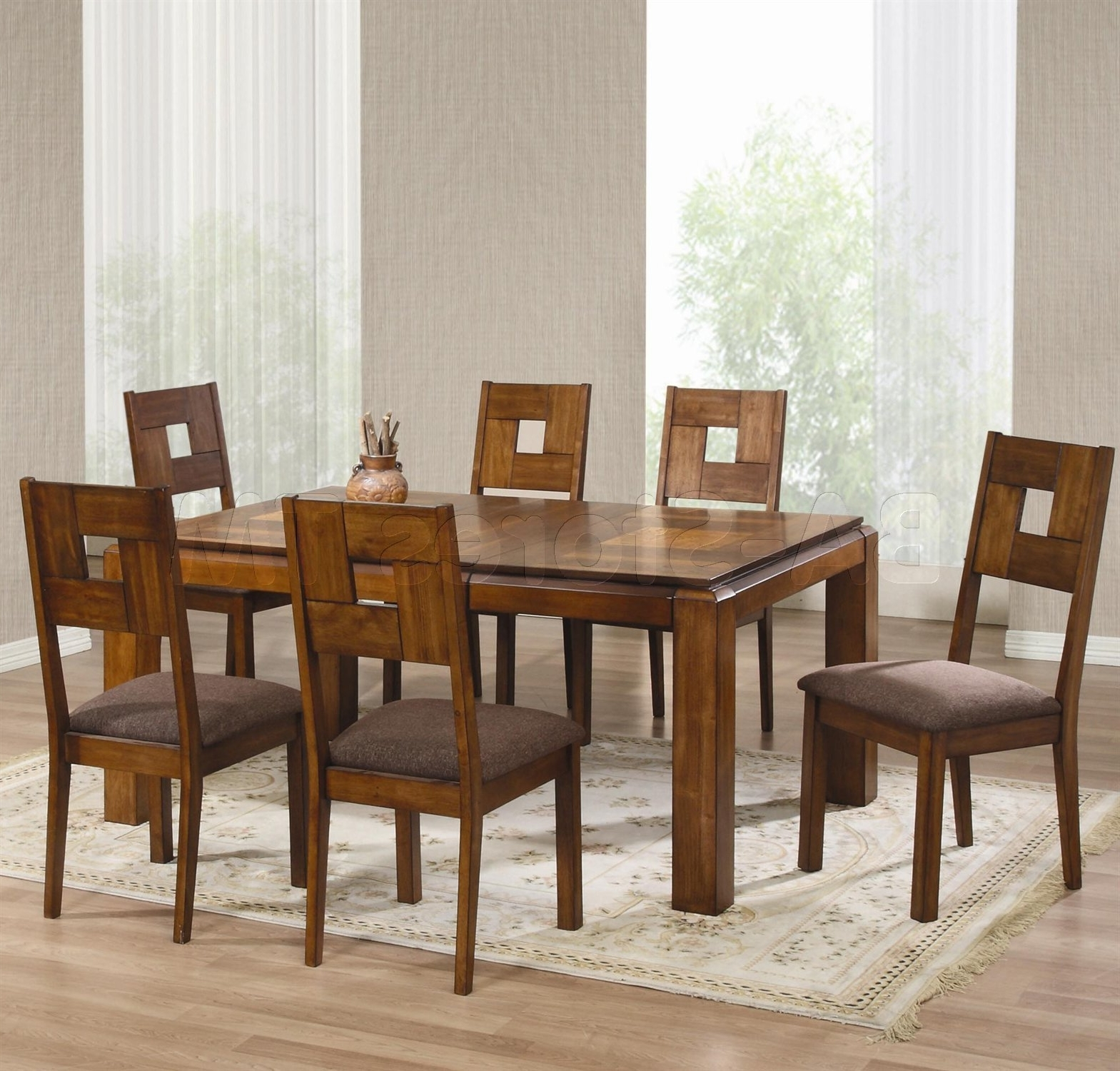 Dining Tables And Chairs for Most Recent Dining Room Black Dining Room Table Chairs Wood Dining Room
