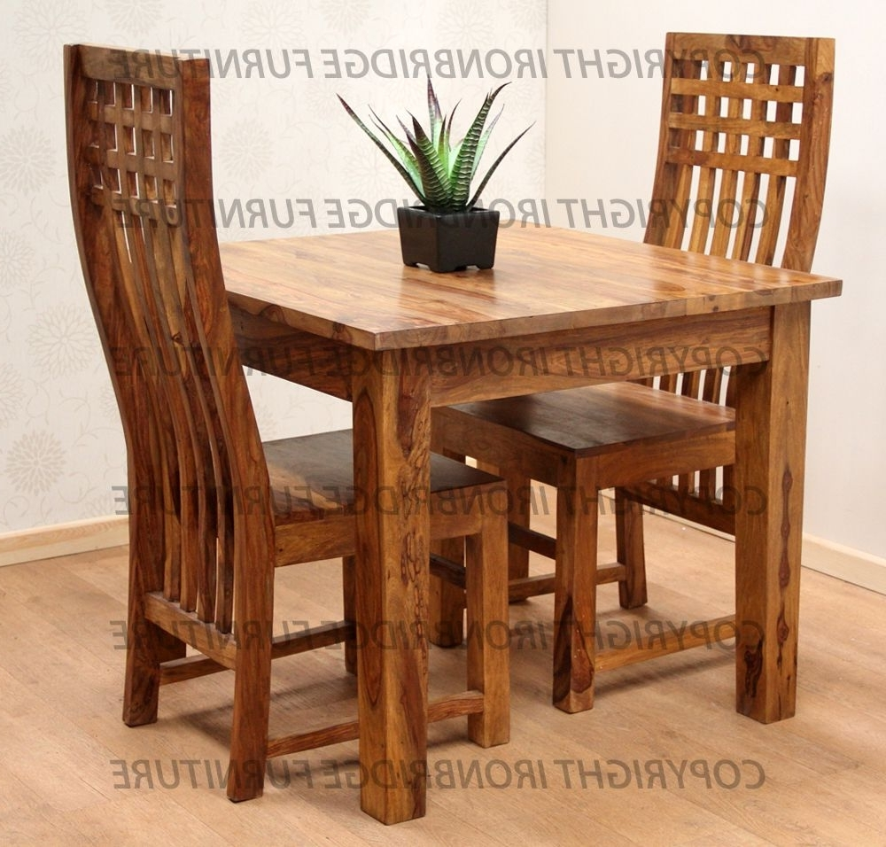 Dining Tables And Chairs For Two Pertaining To Well Known Dining Table Set For Two • Table Setting Design (View 7 of 25)