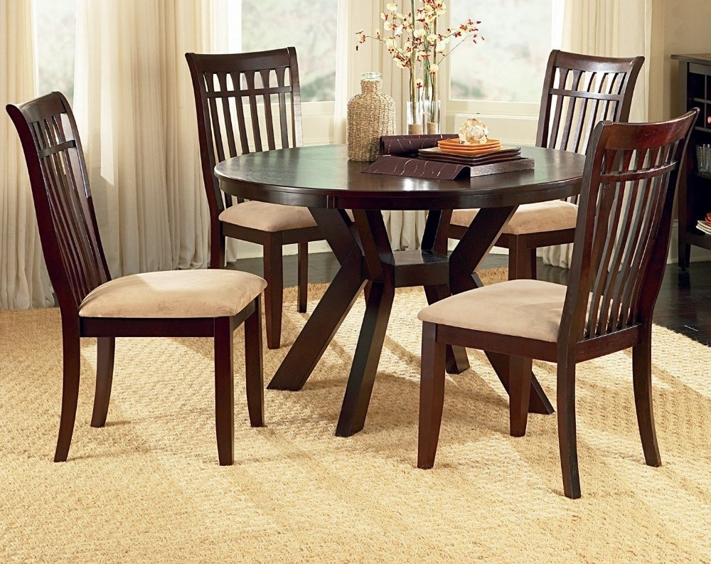 Dining Tables: Awesome Cheap Round Dining Table Round Tables For For Preferred Cheap Dining Sets (View 3 of 25)