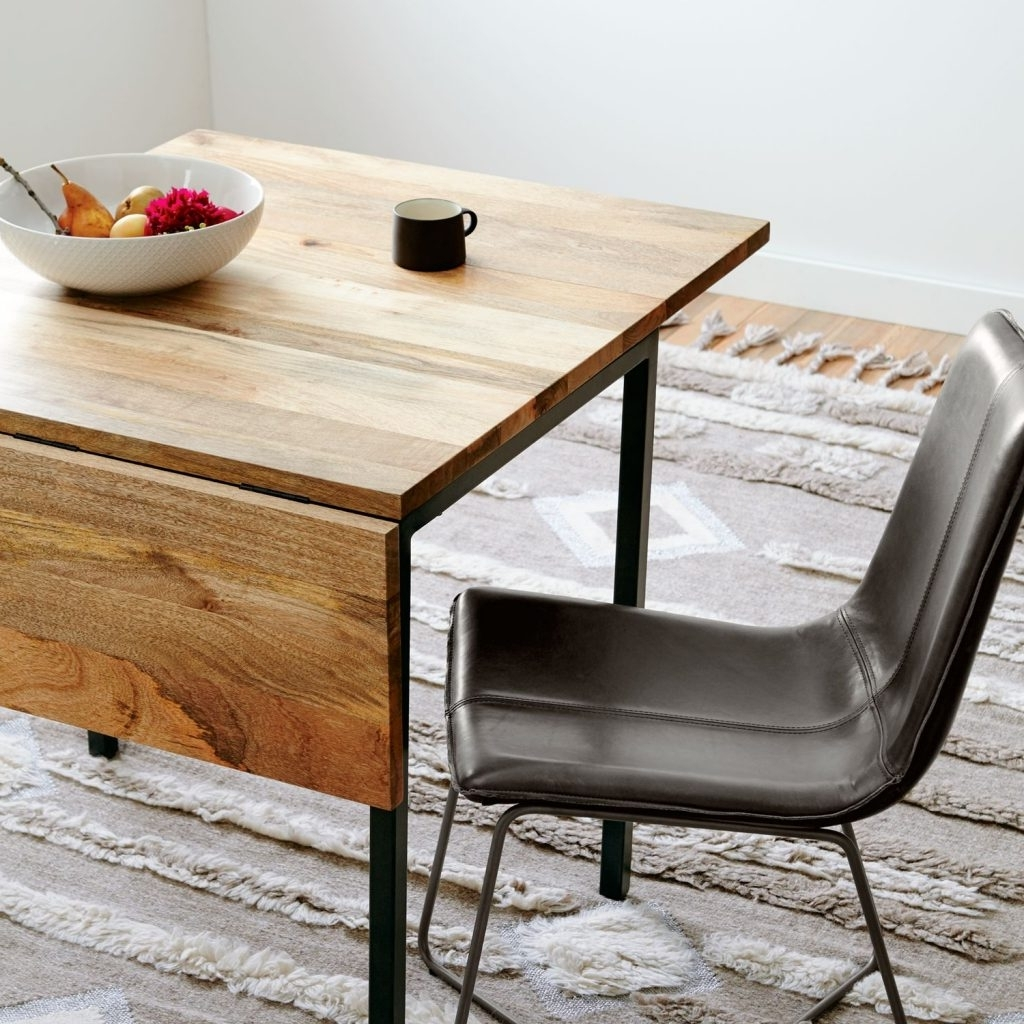 Dining Tables For Tiny Spaces – The Furniture Co Within Well Known Drop Leaf Extendable Dining Tables (Gallery 7 of 25)