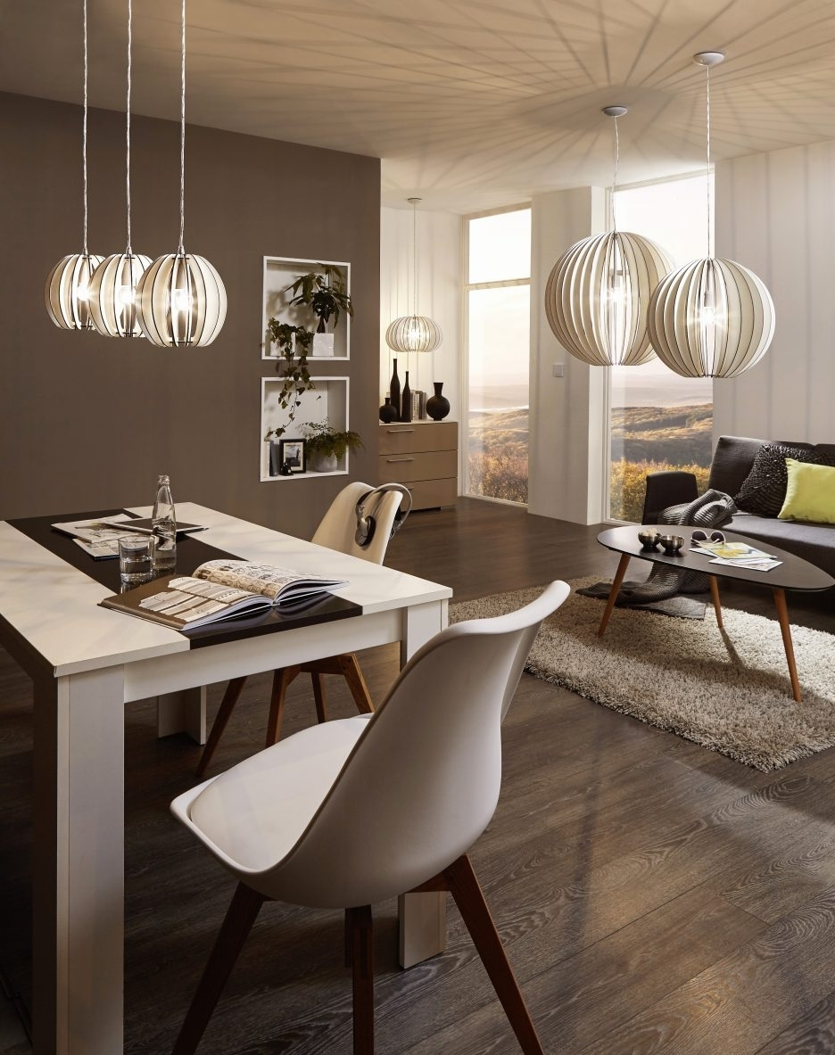 Dining Tables Lighting For Most Recent Modern Kitchen Table Lighting Dining Table With Chandelier Cool (View 5 of 25)