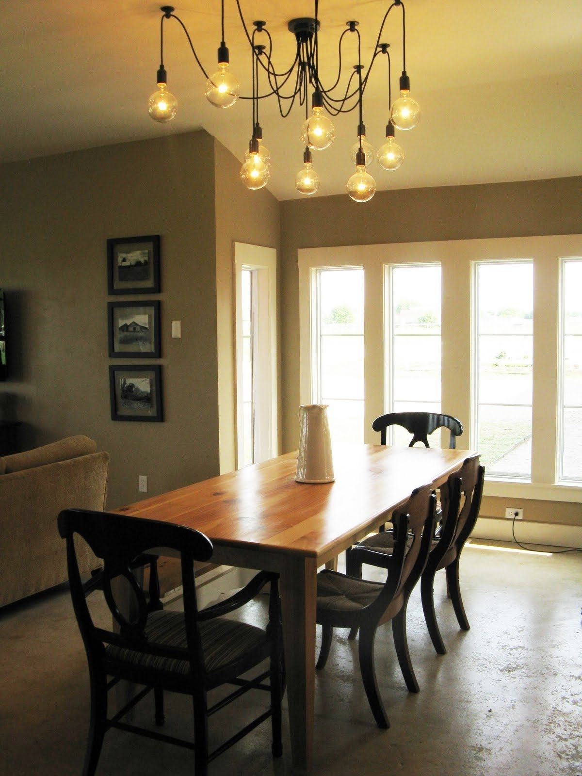 Dining Tables Lighting Pertaining To Most Recent Dinning Room Table Light Fixture (Gallery 9 of 25)