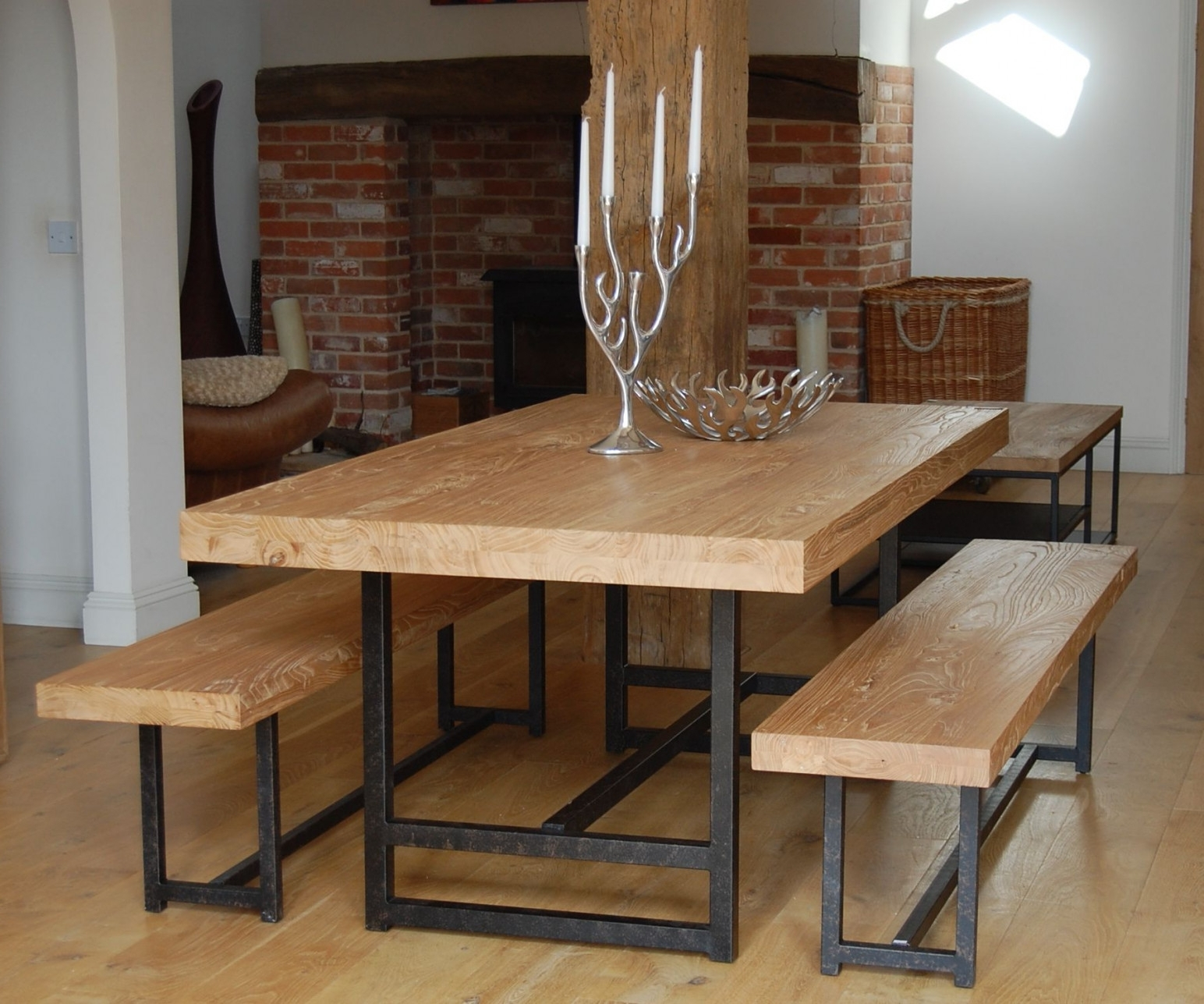 Dining Tables: Marvellous Narrow Dining Table With Bench Thin Dining With Regard To Most Recent Thin Long Dining Tables (Gallery 15 of 25)