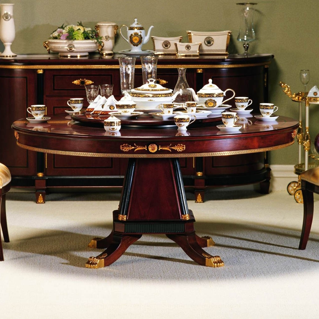 Dining Tables Regarding Fashionable Large Circular Dining Tables (Gallery 11 of 25)