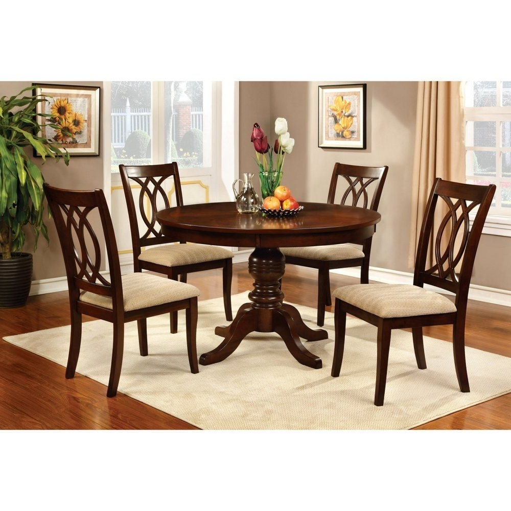 Dining Tables: Stunning Circle Dining Table Set Round Dining Table Pertaining To Most Recently Released Circular Dining Tables For 4 (Gallery 2 of 25)