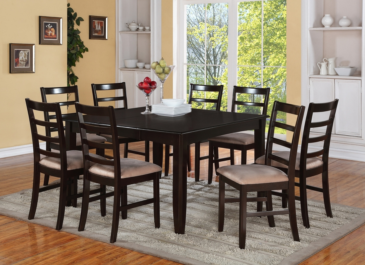 Dining Tables With 8 Chairs With Recent Glass Dining Table 8 Chairs Luxury Room Tables And Cheap Lovely (View 25 of 25)