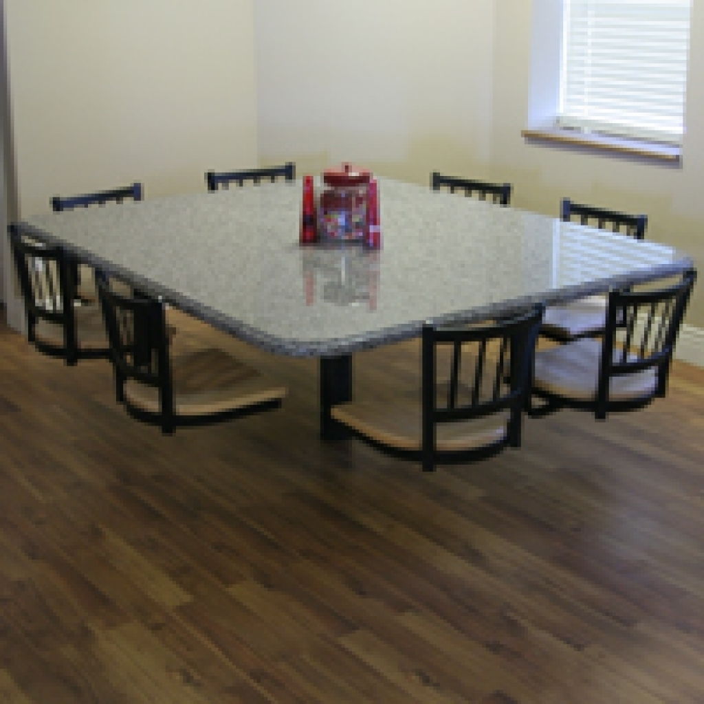 Dining Tables With Attached Stools Inside Well Known Dining Table With Attached Stools – Dining Tables Ideas (View 3 of 25)
