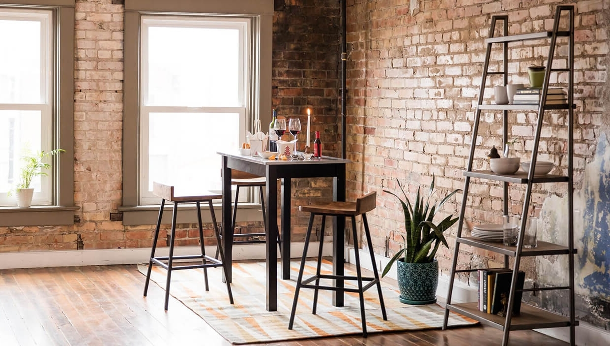 Dining Tables With Fold Away Chairs In Most Recently Released Small Kitchen & Dining Tables & Chairs For Small Spaces – Overstock (View 10 of 25)