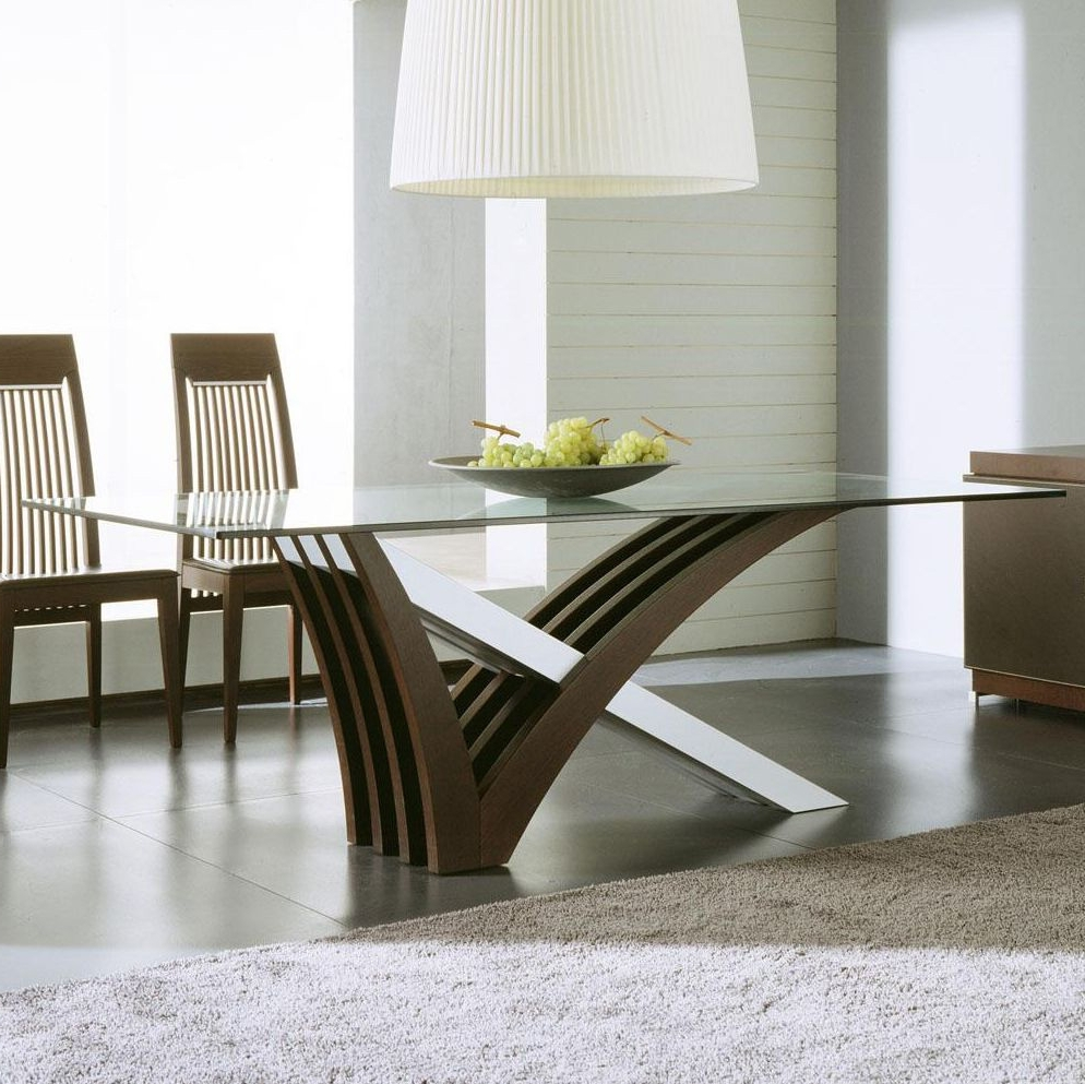 Dining Tables with regard to Favorite Clear Glass Dining Tables And Chairs