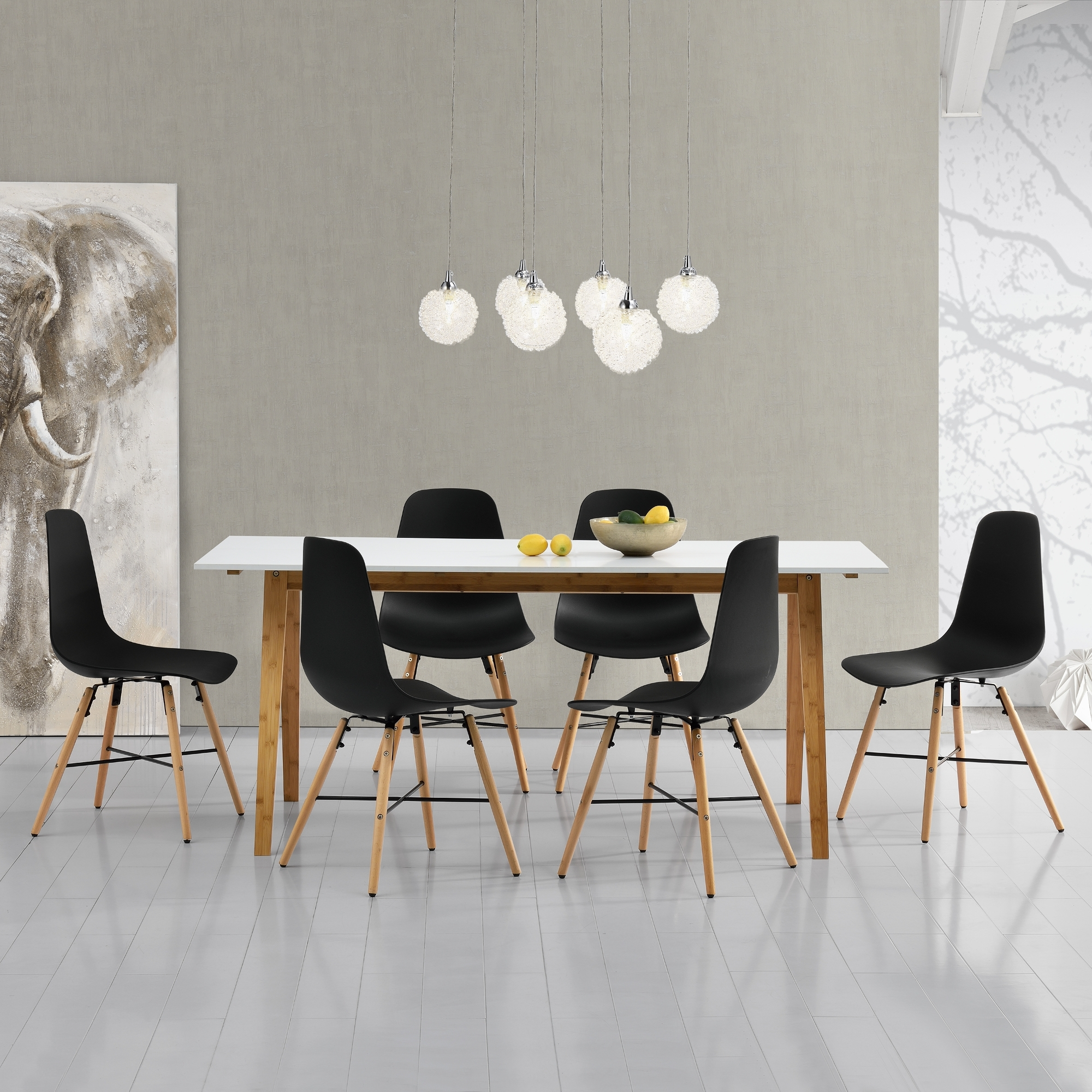 Ebay regarding White Dining Tables And 6 Chairs