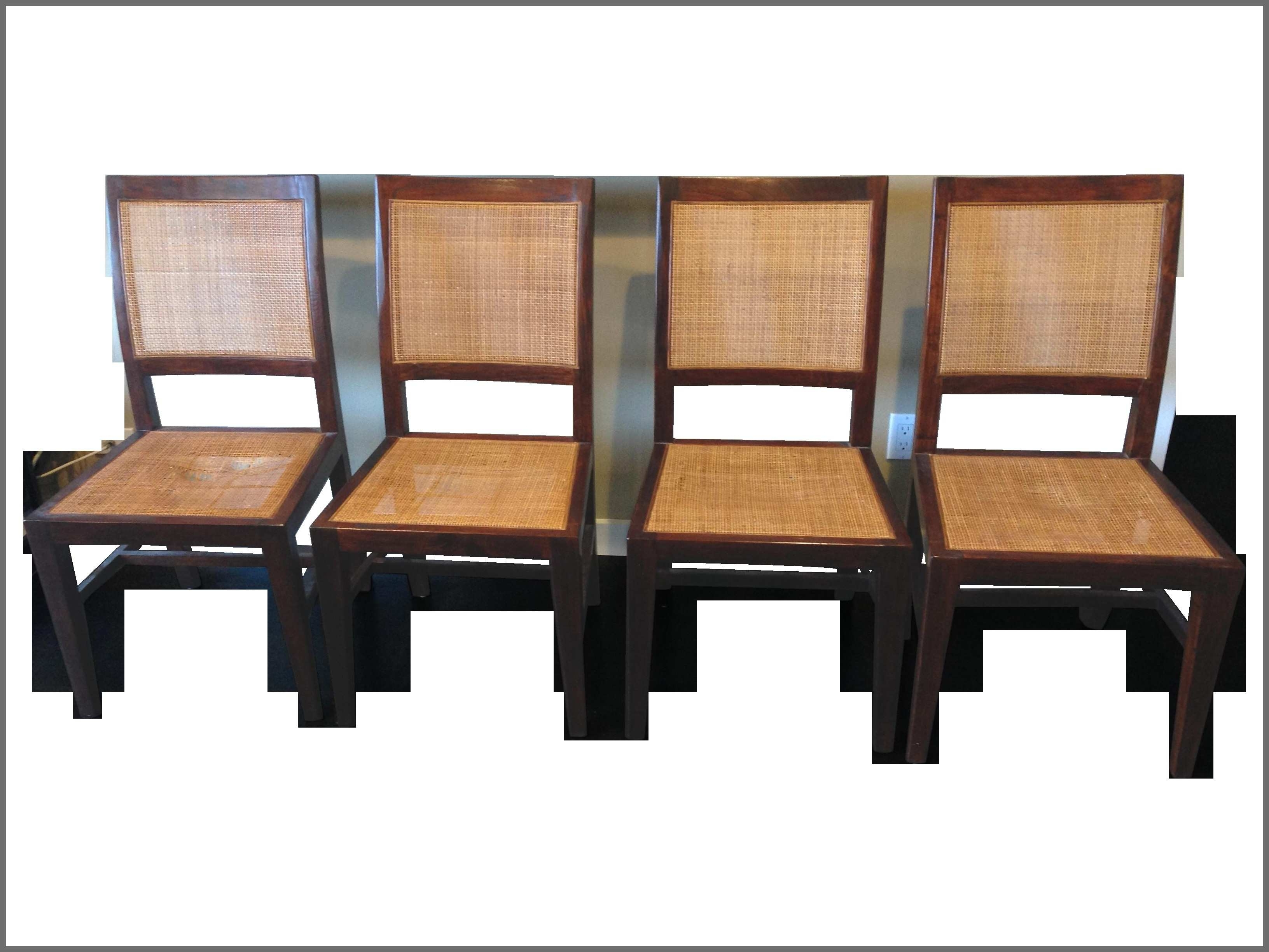 Ebay Roof Racks Best Of Crate Barrel Cane Dining Chairs Set Of 4 pertaining to Most Recent Ebay Dining Chairs