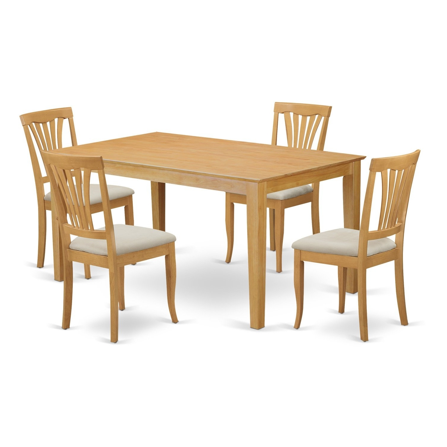 Ebay With Regard To Oak Dining Tables And 4 Chairs (View 5 of 25)