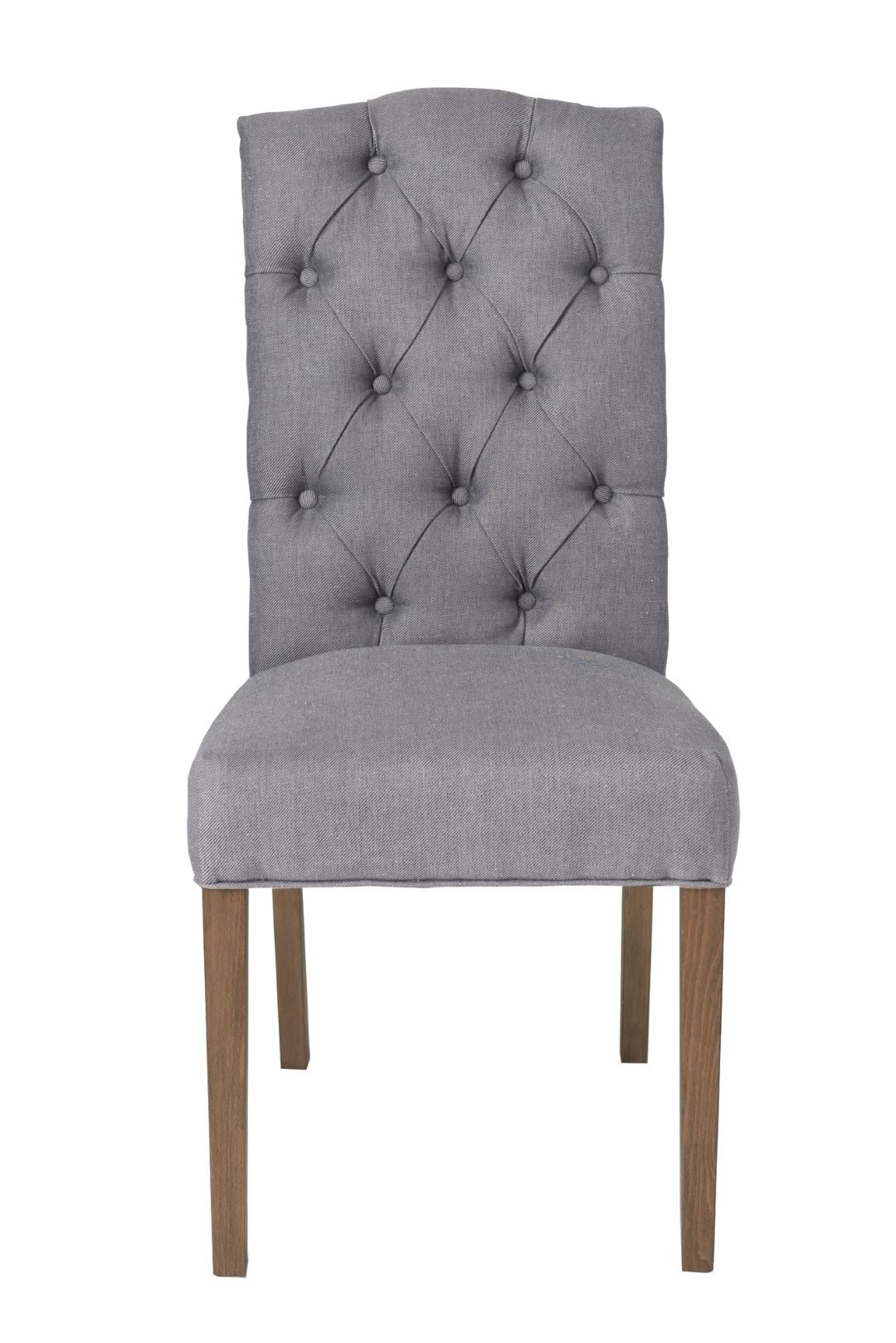 Eclectic - Lh Imports Chester Dining Chair (Set Of 2 - Dark Grey for Latest Chester Dining Chairs