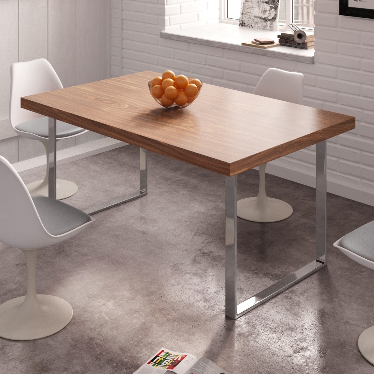 Eco-Natura Roma Dining Table regarding Well known Roma Dining Tables