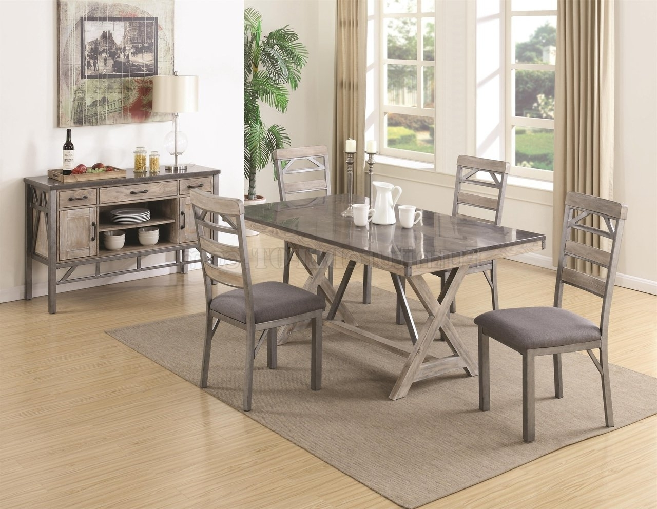 Edmonton Dining Tables Throughout Current Melbourne 106321 Dining Tablecoaster W/options (View 9 of 25)