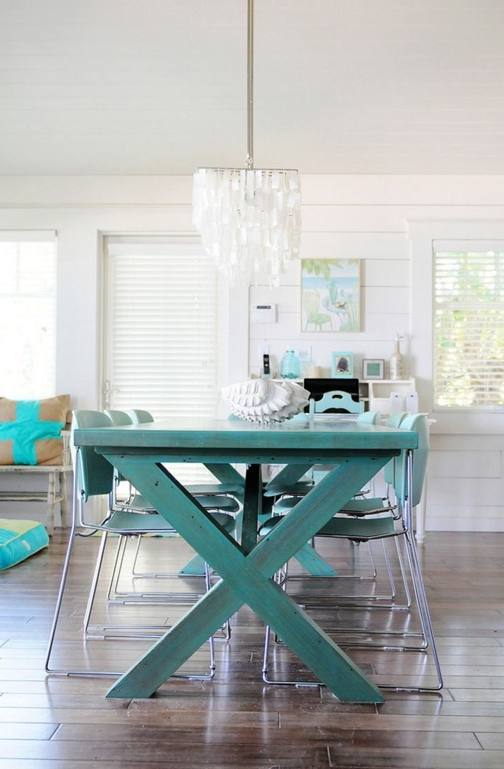 Embrace The Relaxed Style Of Indoor Picnic Tables (View 6 of 25)