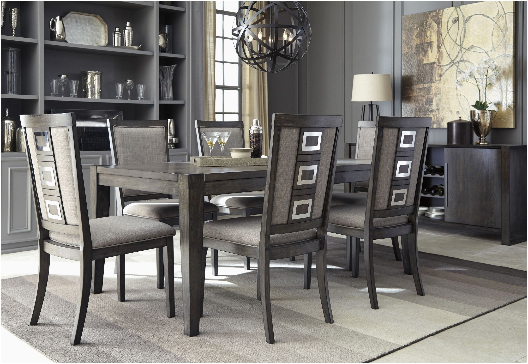 Engaging Grand Dining Room At Chapleau Extension Dining Table Throughout Favorite Chapleau Extension Dining Tables (View 11 of 25)