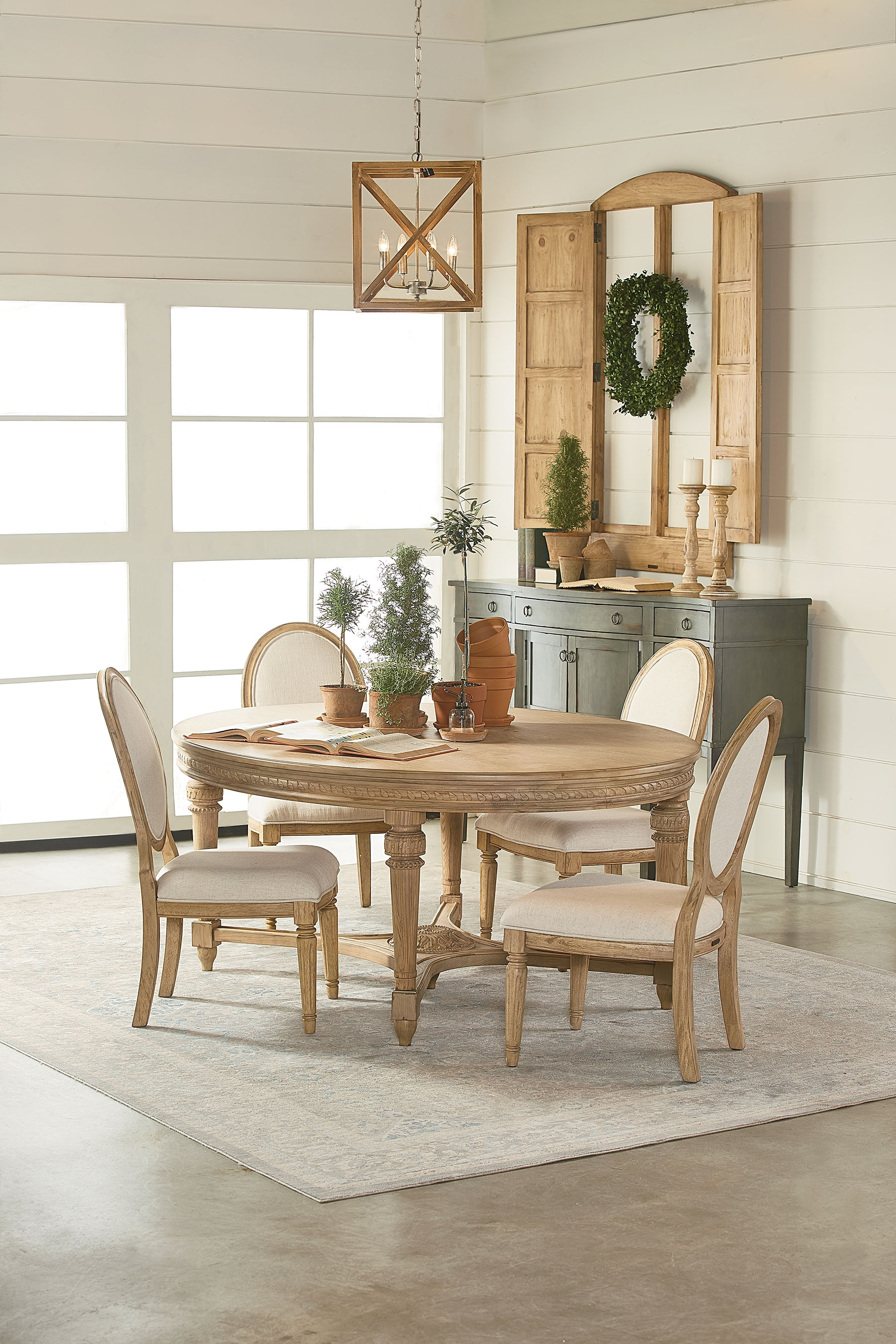 English Country Oval Dining Table - Magnolia Home in Best and Newest Magnolia Home English Country Oval Dining Tables