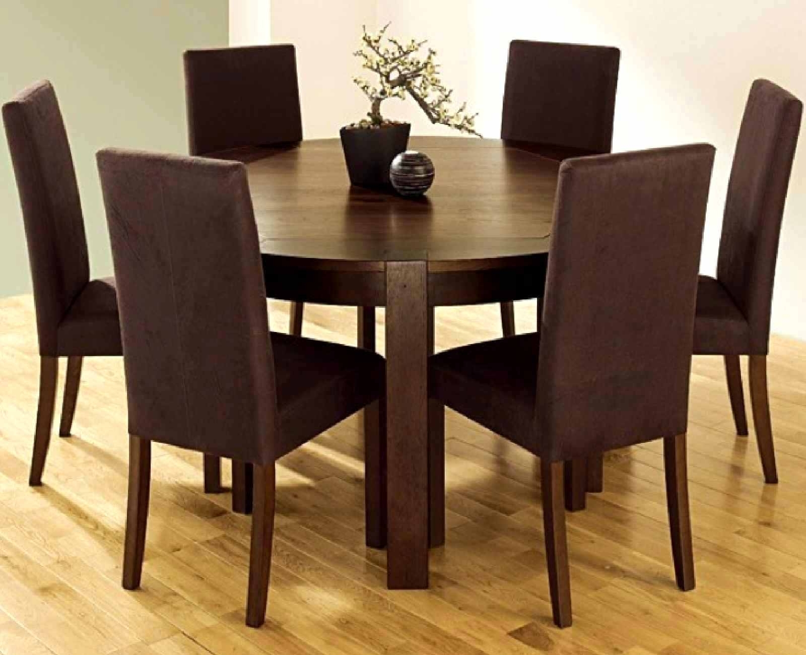 Enjoyable Dining Table With Six Chairs Ideas Dining Table Round Intended For Well Known Dining Tables And Six Chairs (View 15 of 25)