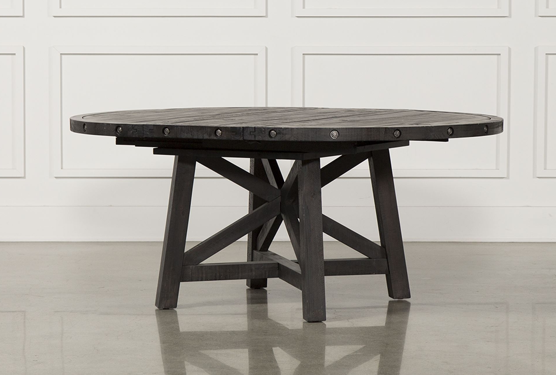 Entertain Them With Your Country Dining Table! – Home Decor Ideas Pertaining To Most Recently Released Round Extendable Dining Tables (View 7 of 25)