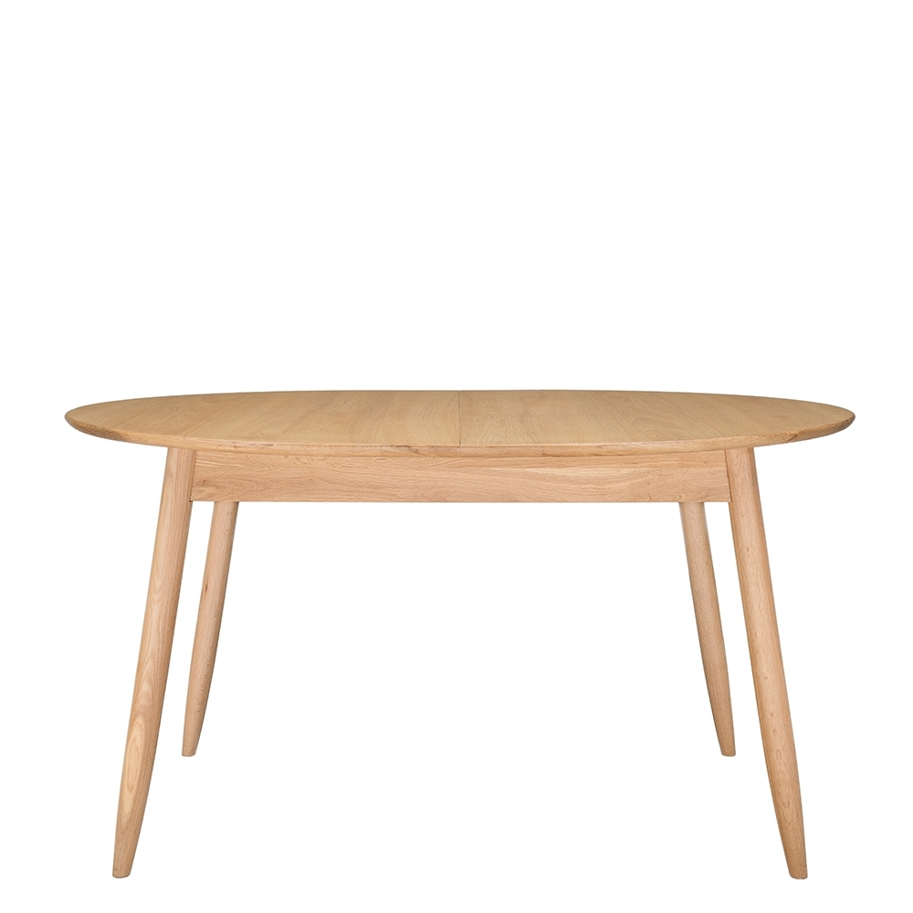 Ercol Teramo Small Extending Dining Table, Pale Oak (View 7 of 25)