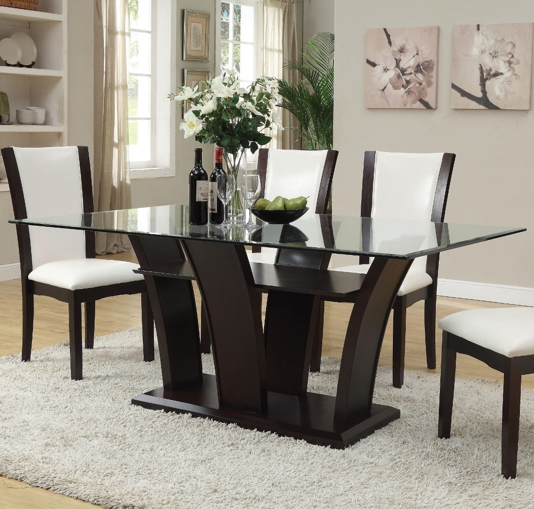 Espresso Rectangular Dining Table - Dining Tables Ideas for Widely used Lindy Espresso Rectangle Dining Tables