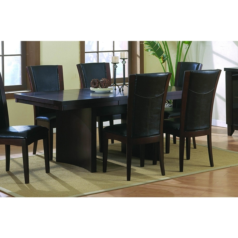 Espresso Rectangular Dining Table - Dining Tables Ideas pertaining to Preferred Lindy Espresso Rectangle Dining Tables