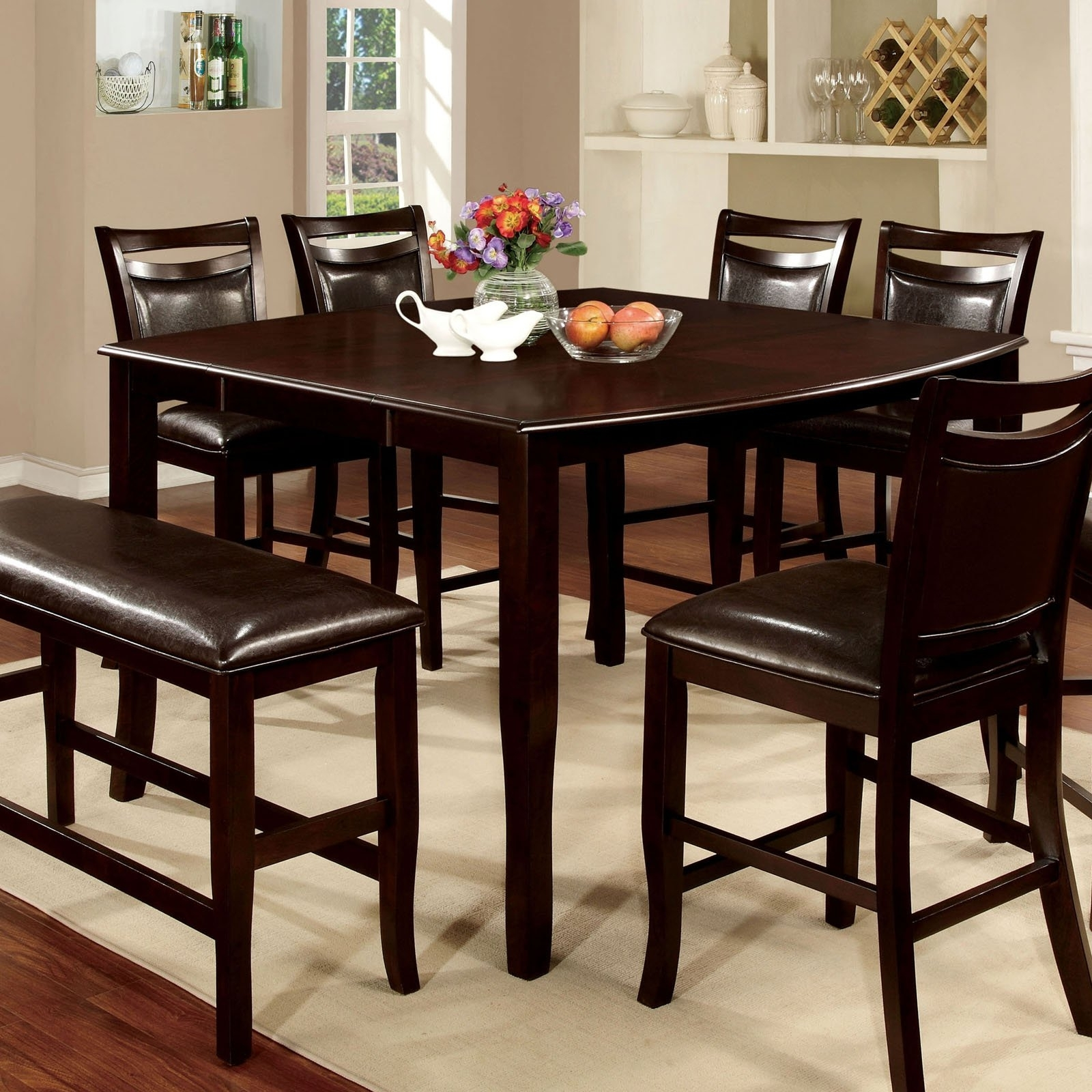 Espresso Rectangular Dining Table - Dining Tables Ideas throughout 2017 Lindy Espresso Rectangle Dining Tables