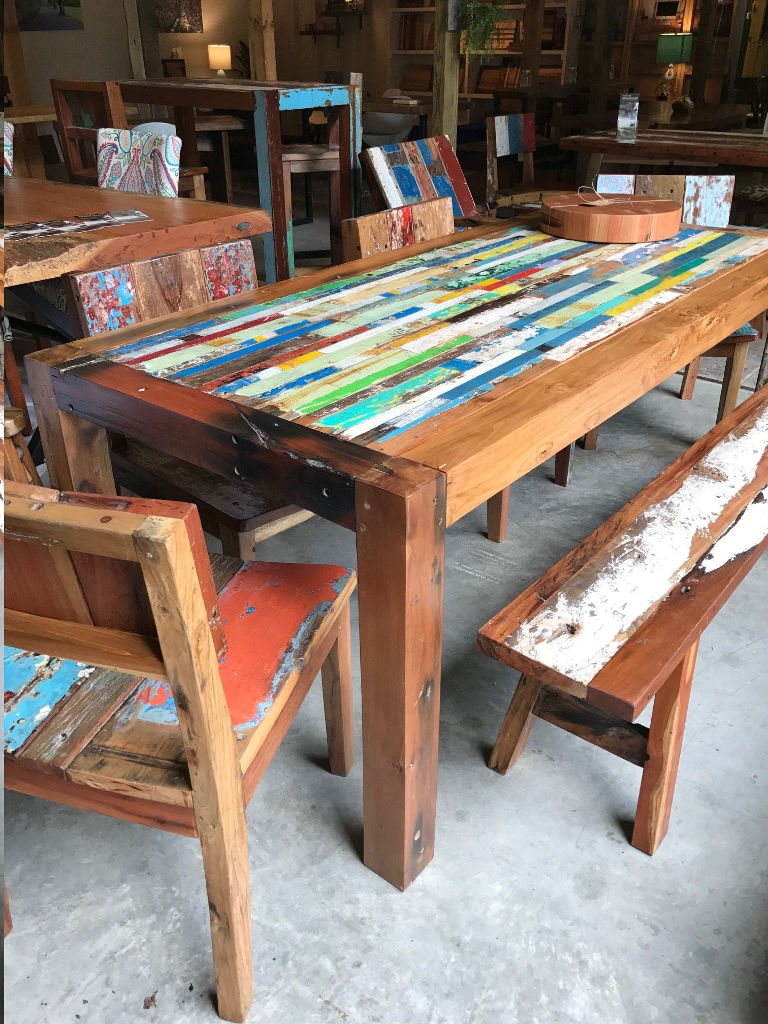 Etsy with regard to Balinese Dining Tables