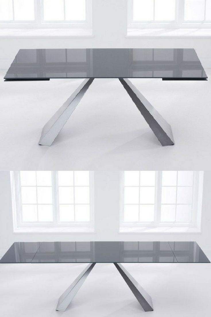 Expandable Inside Glass Folding Dining Tables (Gallery 6 of 25)