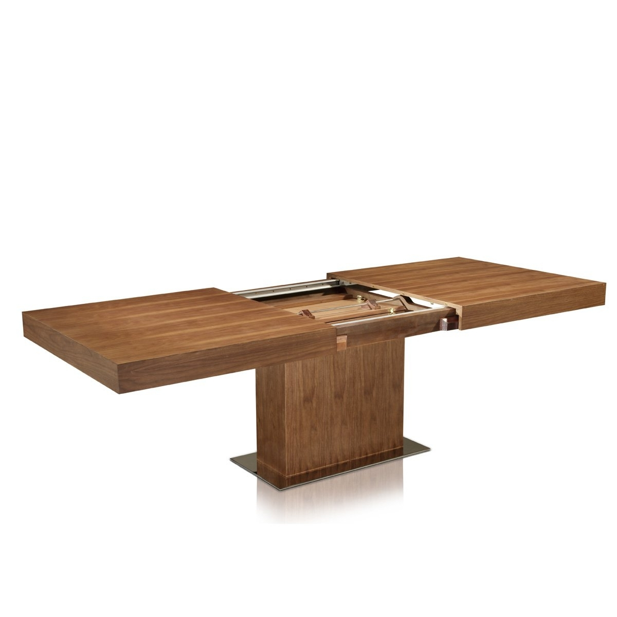 Expandable Wood Dining Table Narrow Extendable Dining Table 2017 with regard to Famous Square Extendable Dining Tables