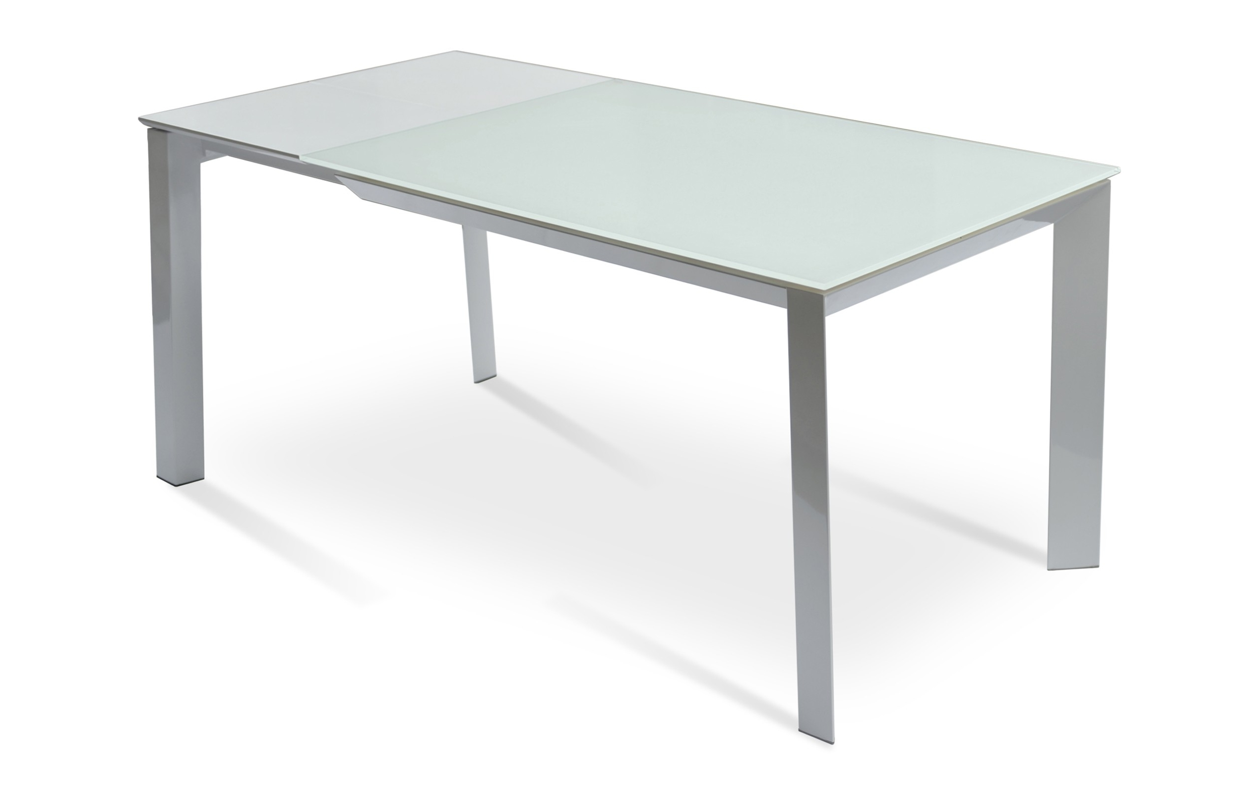 Extendable Dining Sets With Regard To Fashionable Milano Glass Extendable Dining Table (View 21 of 25)