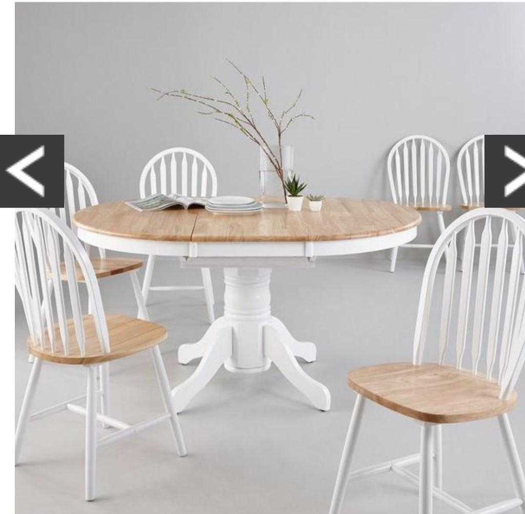 Extendable Dining Tables With 6 Chairs with regard to Newest Kentucky Extending Dining Table And 6 Chairs