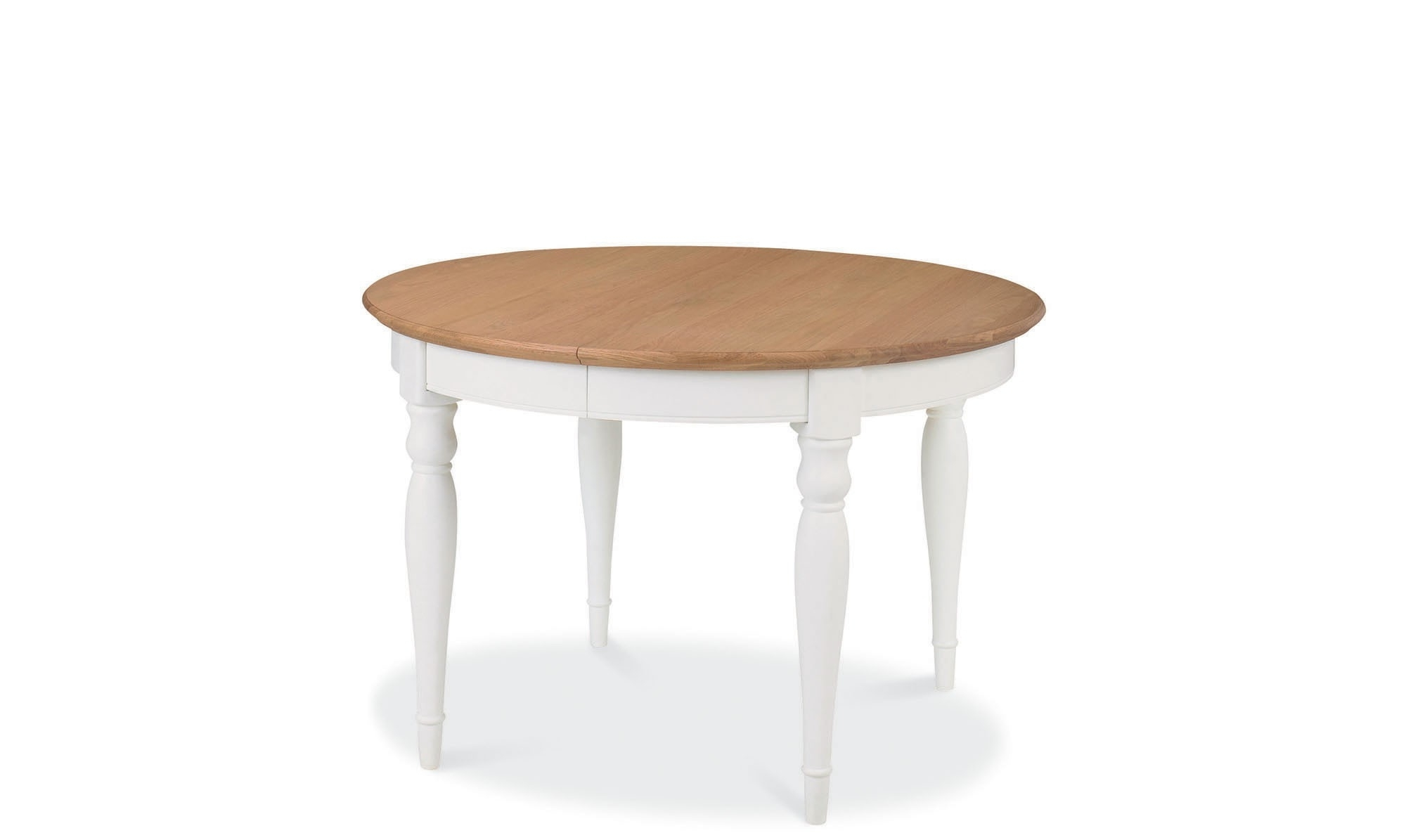 Extendable Round Dining Tables inside Latest Georgie - Round Extendable Dining Table - Fishpools