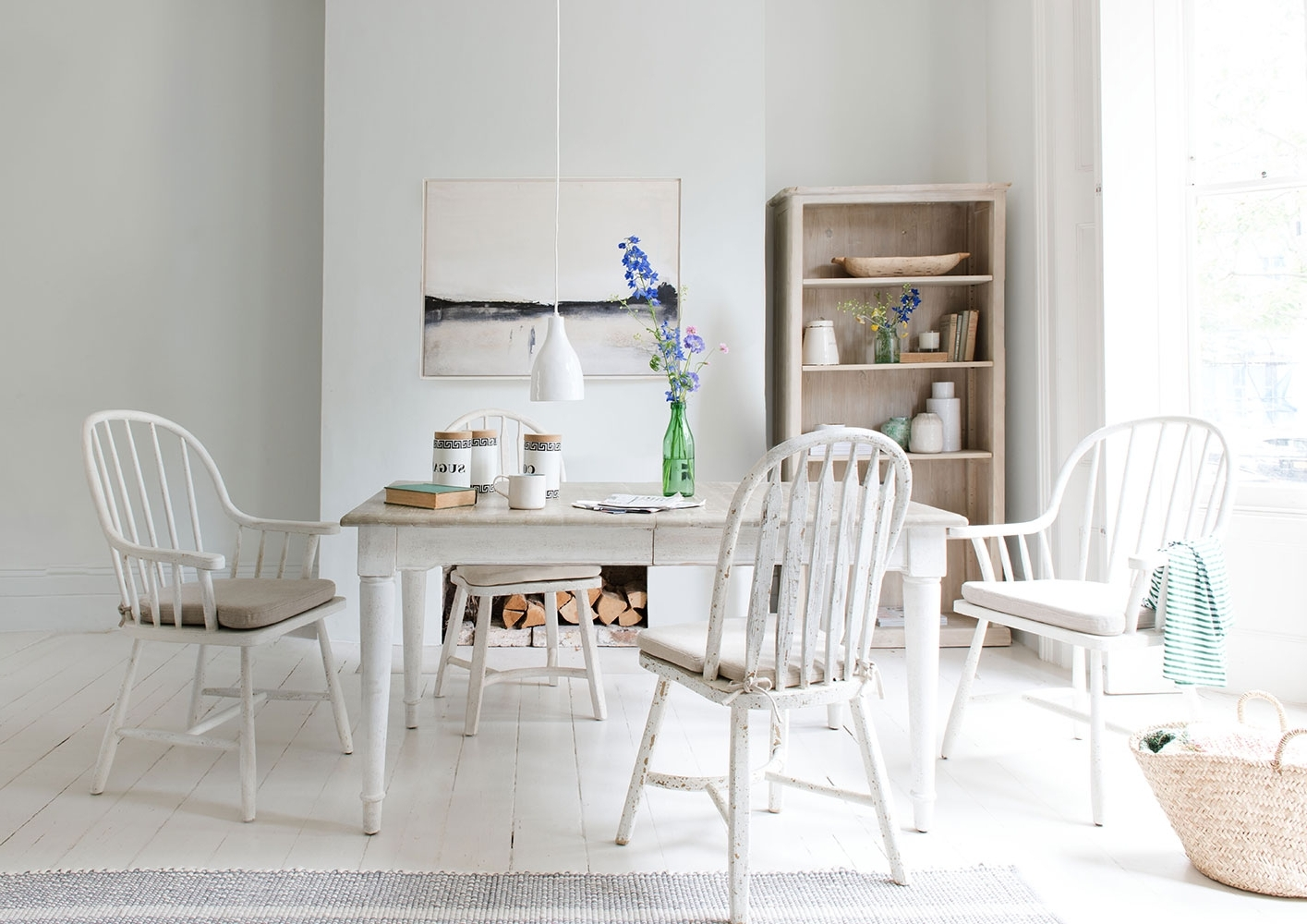 Extendable White Dining Table (View 7 of 25)