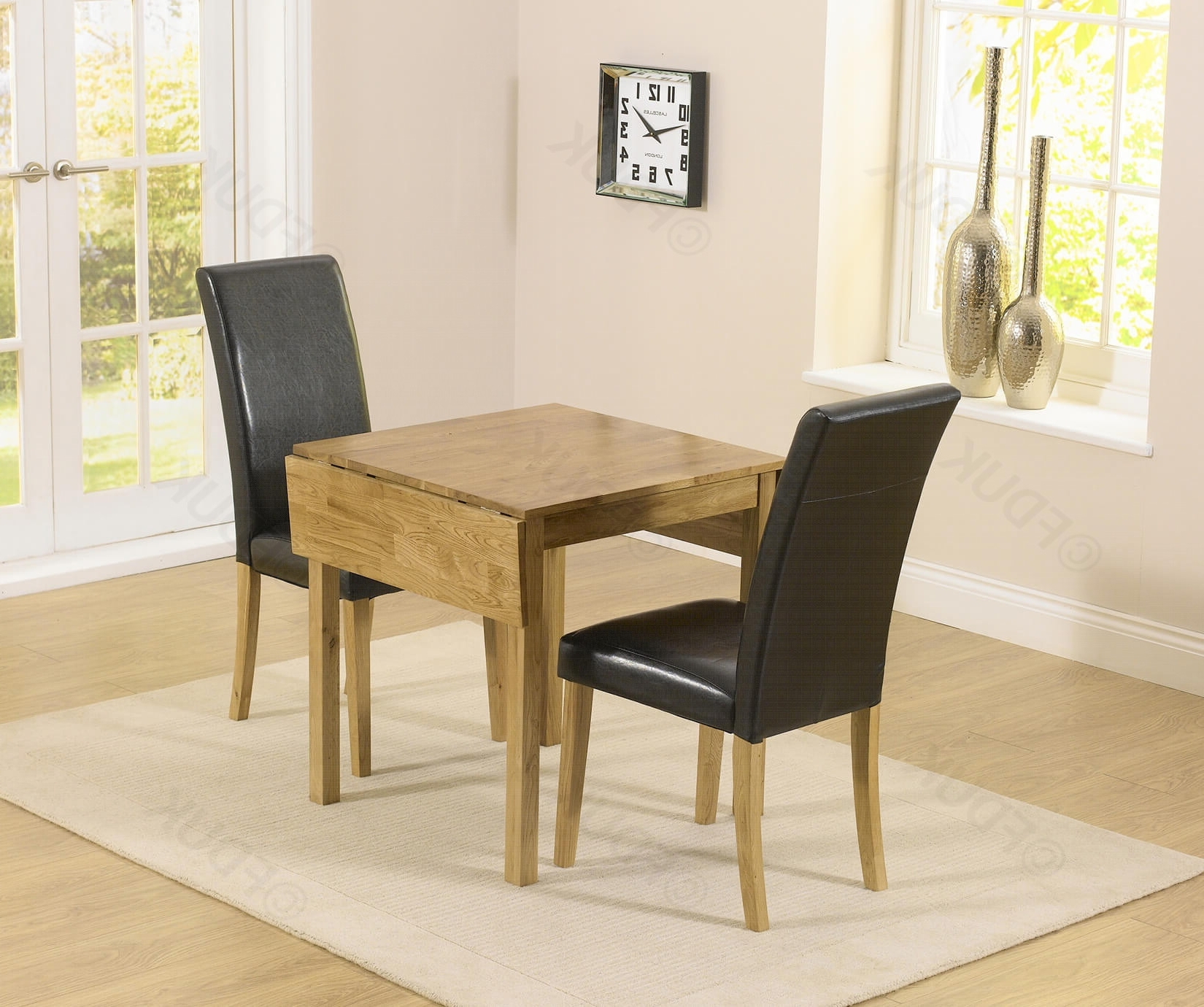 Extending Black Dining Tables throughout Most Up-to-Date Mark Harris Promo