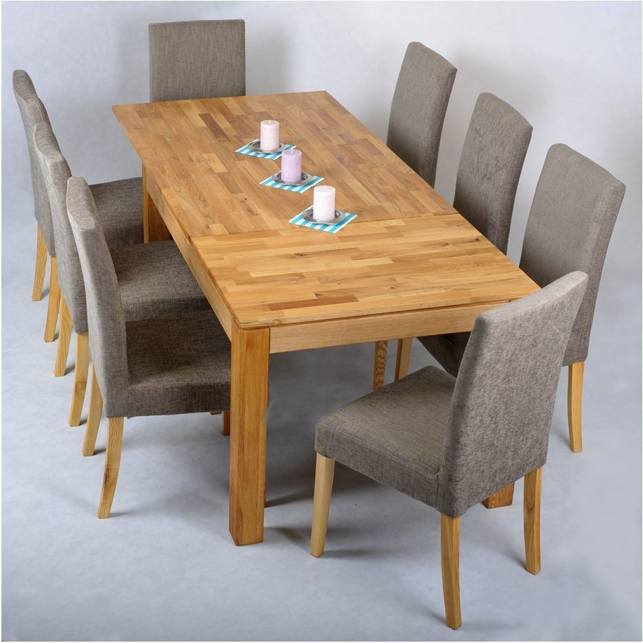 Extending Dining Room Tables And Chairs pertaining to 2017 Beautifull Oak Table And Chair Durable And Versatile – Oak Extending