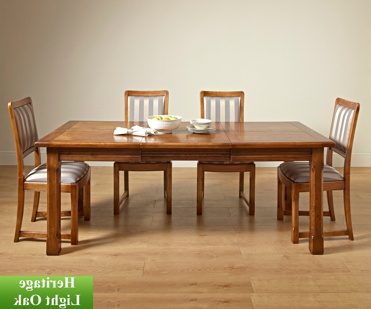 Extending Dining Room Tables And Chairs With Well Liked Old Charm Classic 2979 Priory Extending Dining Table – Dining Tables (Gallery 25 of 25)