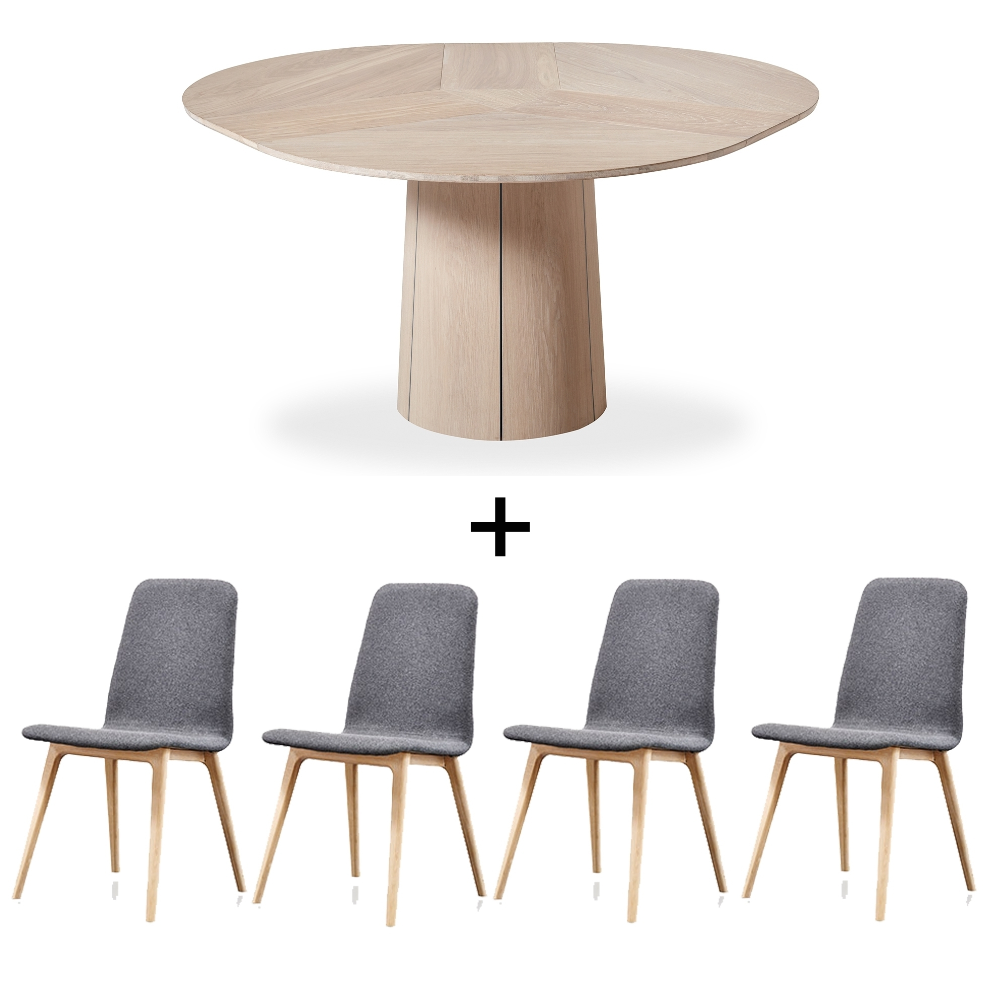 Extending Dining Tables And 4 Chairs With Famous Skovby Extending Dining Table And 4 Chairs – Dining Sets – Cookes (View 25 of 25)