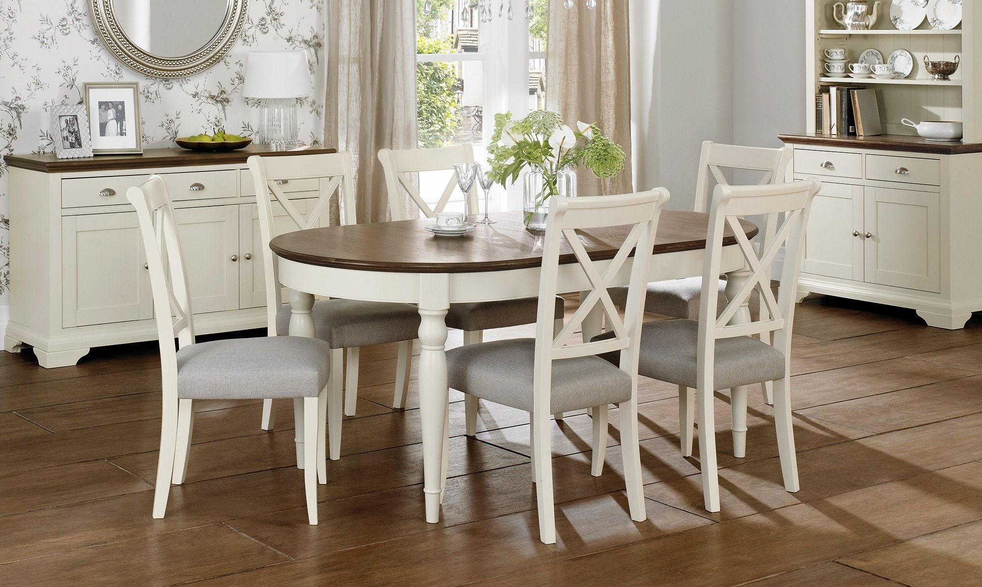 Extending Dining Tables Sets With Famous Oval Extending Dining Table Sets • Table Setting Design (View 10 of 25)