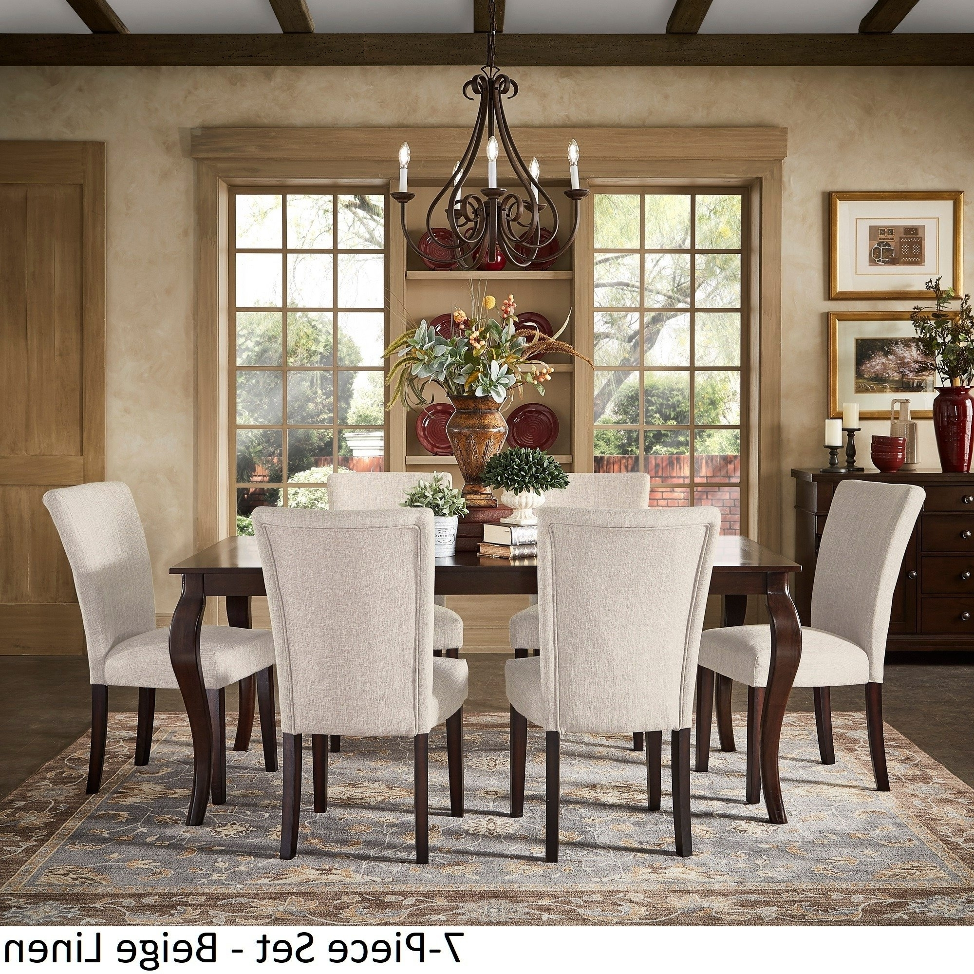 Extending Dining Tables Sets With Most Current Shop Pranzo Rectangular 72 Inch Extending Dining Table And Set With (View 11 of 25)