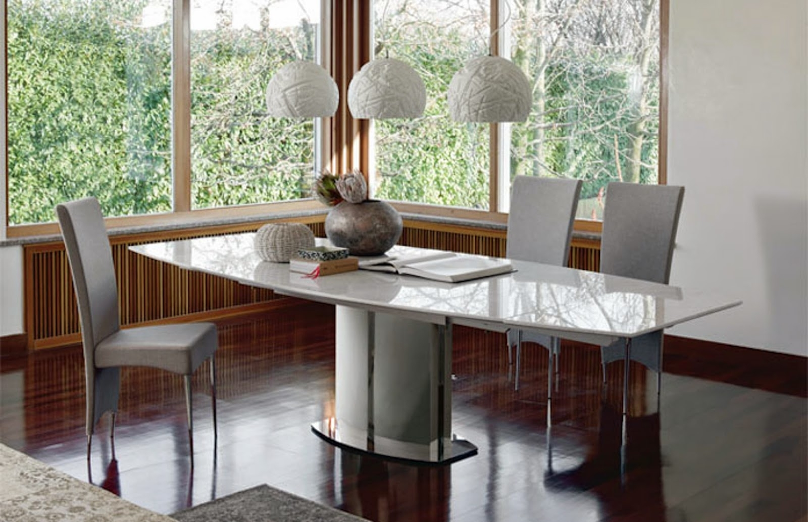 Extending Marble Dining Tables within Latest Extending Table - Rodeo Drive Marble - Cattelan Italia - Italian