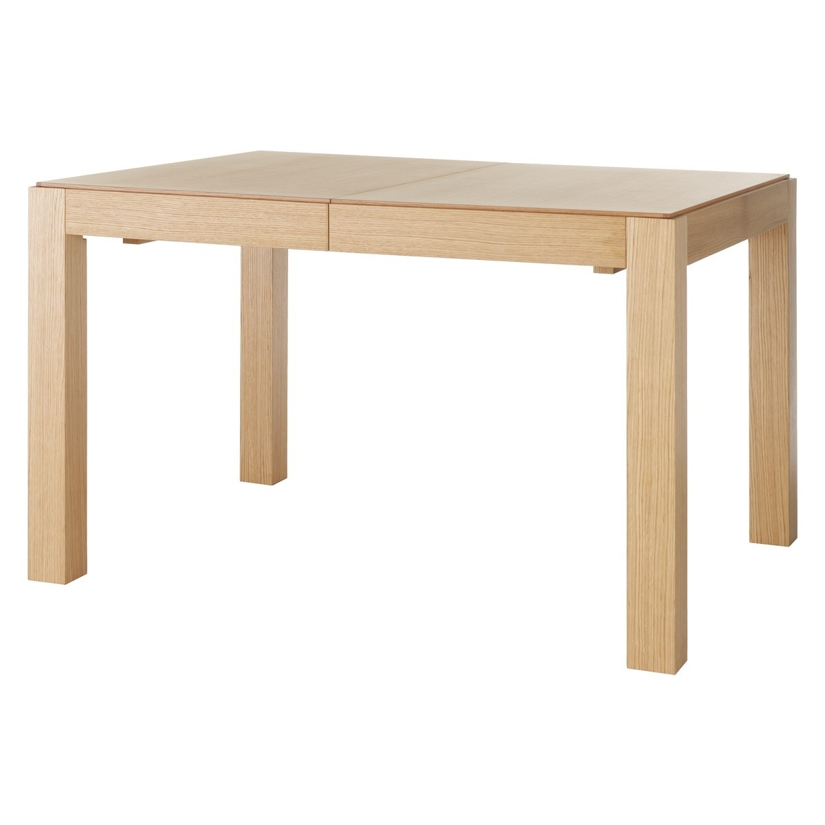 Extending Oak Dining Tables pertaining to Preferred Drio 4-10 Seat Oak Extending Dining Table